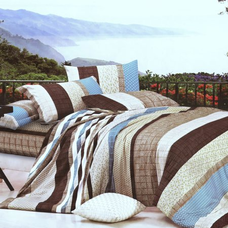 Wonderful Life Luxury 7PC Bed In A Bag Combo 300GSM (Queen Size)
