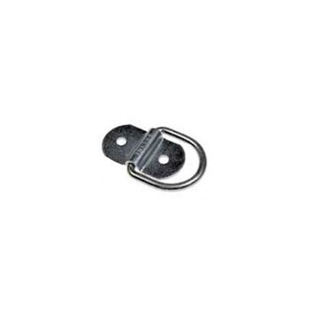 G-Force Racing D1055 FLUSH MOUNT D-RING-SILVER