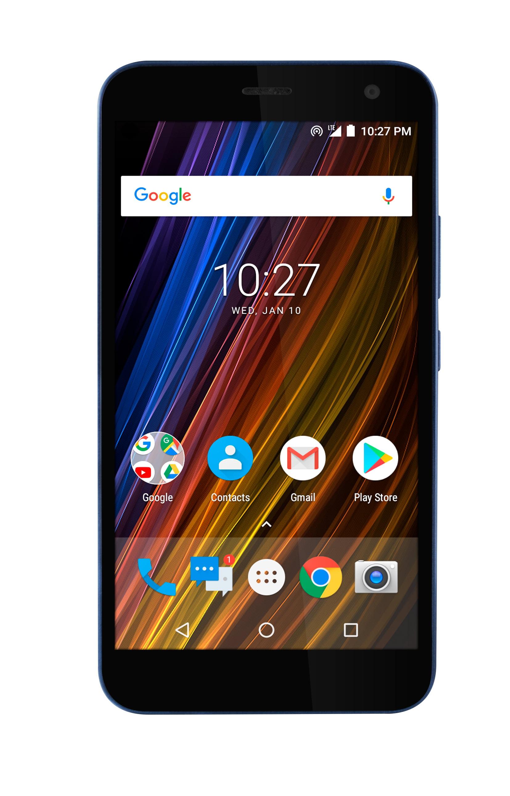 Cricket Wireless Wave 16GB Prepaid Smartphone, Blue