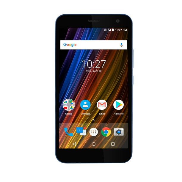 Cricket Wireless Wave 16gb Prepaid Smartphone Blue Walmart Com Walmart Com