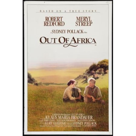 Out Of Africa Movie Poster 24in x -