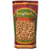 We Got Nuts Raw Unsalted Shelled Whole Jumbo Almonds, 10 lbs
