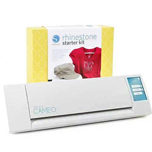 Silhouette Cameo Electronic Cutting Tool with Rhinestone Starter Kit