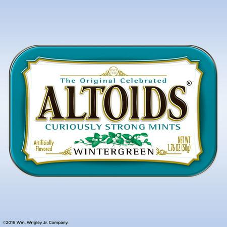 (5 Pack) Altoids, Wintergreen Mints, 1.76