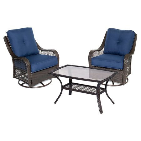 Hanover Woven Patio Set Product Picture