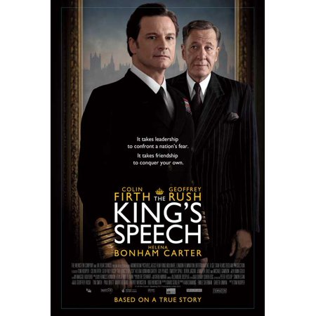 The King's Speech (2010) 27x40 Movie Poster - Anti Halloween Posters Uk
