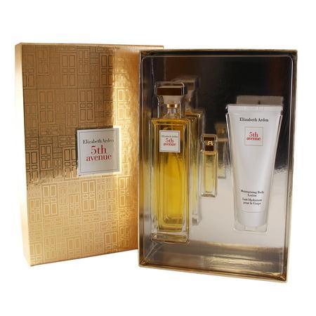 5th Avenue 3 Pc Perfume Gift Set ( Eau De Parfum Spray 4.25 Oz + Parfum 3.7 Ml + Body Lotion 3.3 Oz ) Eau De Parfum Body Lotion