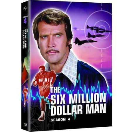 The Six Million Dollar Man  The Complete Fourth Season  Full Frame