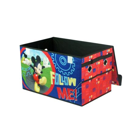 Mickey Mouse Collapsible Toy Storage Trunk - Mickey Mouse Room Ideas
