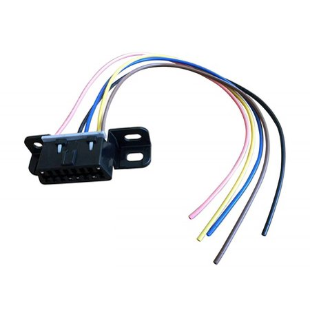 A-Team Performance OBD II, OBD2 DASH PORT WIRE PIGTAIL CONNECTOR PLUG IN CHEVY/GMC LS, LSX, LS1, LS2, LS3, LS6, LS7, L92, LQ4, LM7 4.8L 5.3L 5.7L 6.0L 6.2L (Obd2 Plug)