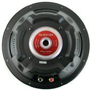 pioneer 15 inch subwoofer. pioneer 12 inch 1400 watt subwoofer car audio power 4-ohm svc sub | ts 15