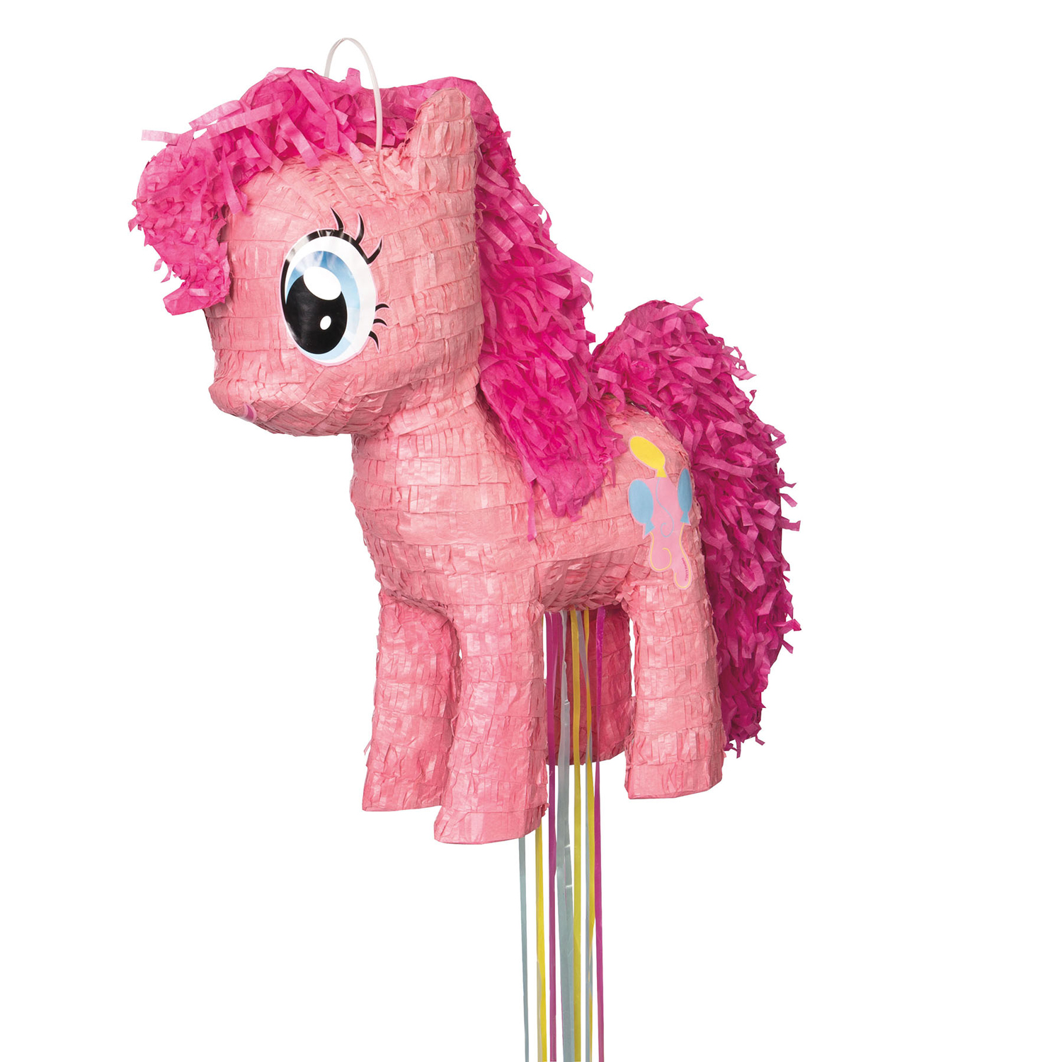 Pinkie Pie My Little Pony Pinata, Pull String, 17 x 14 in, 1ct