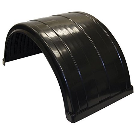 Buyers Products 8590245 Poly Fender (Fender,Poly,Fits Up To 24.5In Dual Rear) (Feeder Rear)