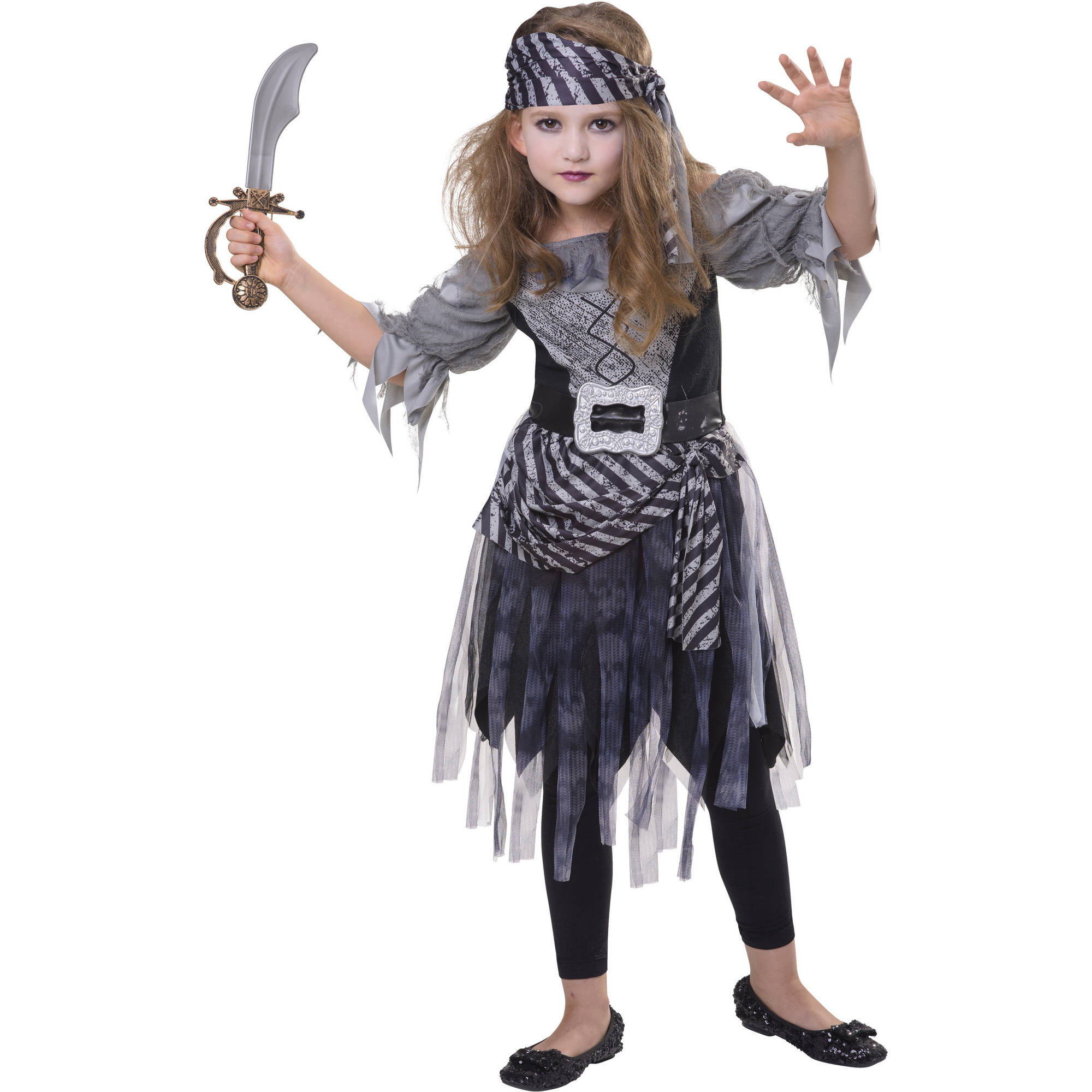 Zombie Pirate Child Halloween Costume