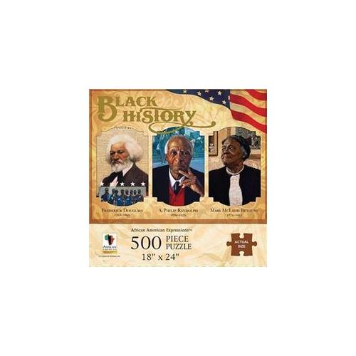 Image of Puzzle-Black History (500 Pieces)