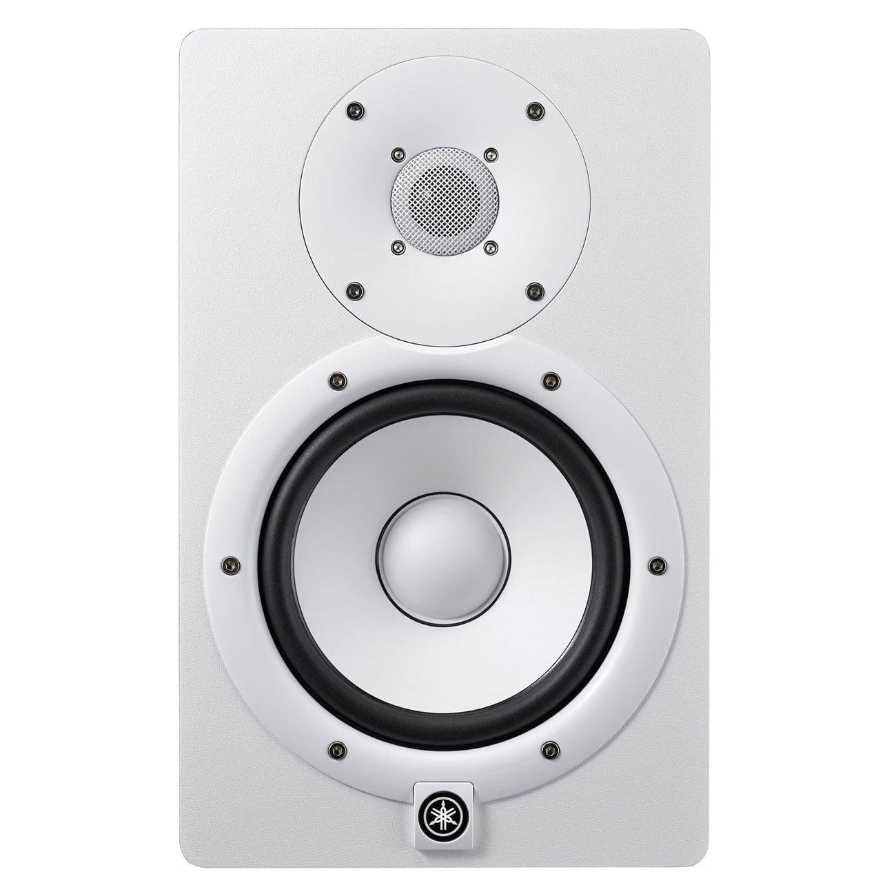 Yamaha HS7 Two-Way Bass-Reflex Powered Studio Monitor White by Yamaha