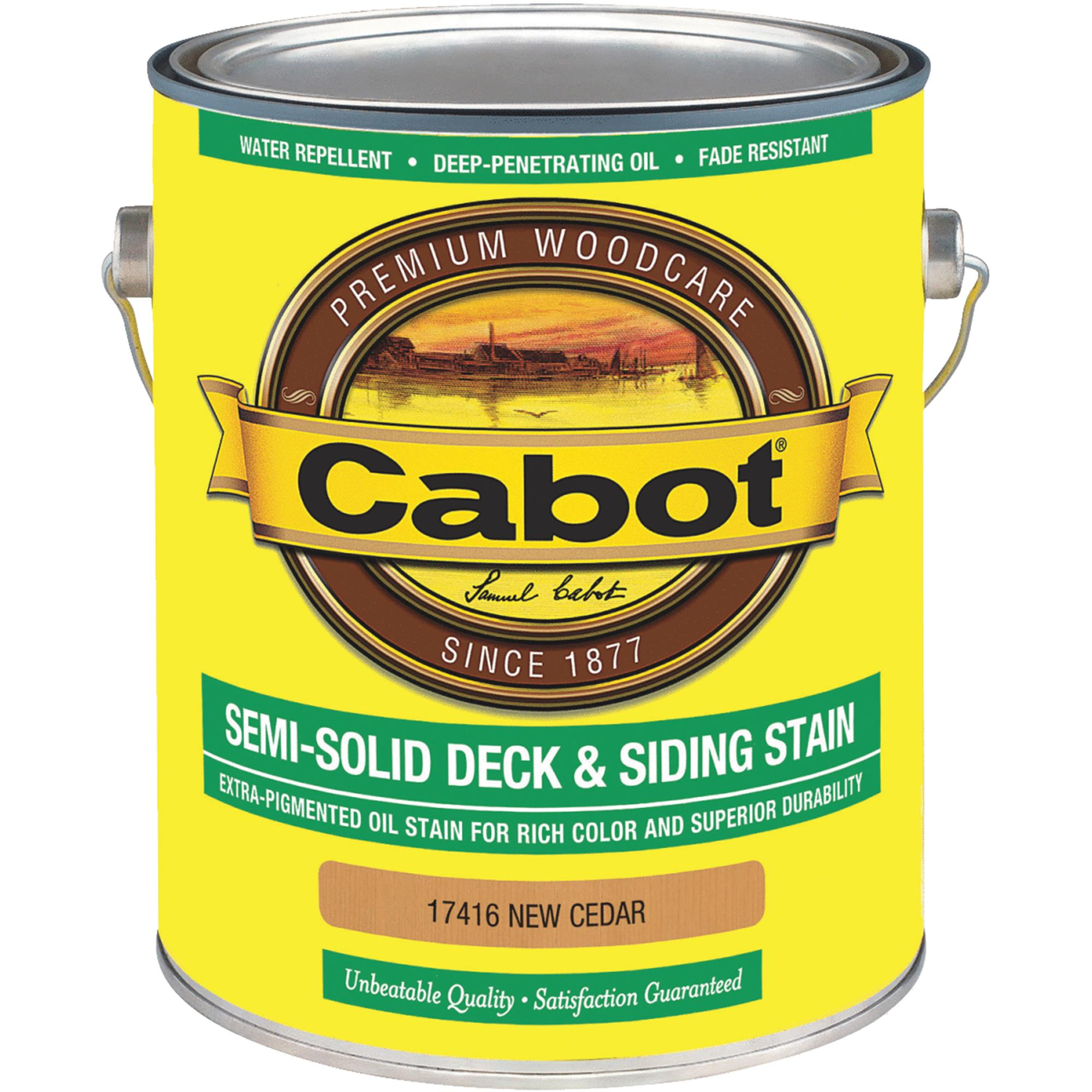 Cabot VOC Semi-Solid Deck & Siding Stain