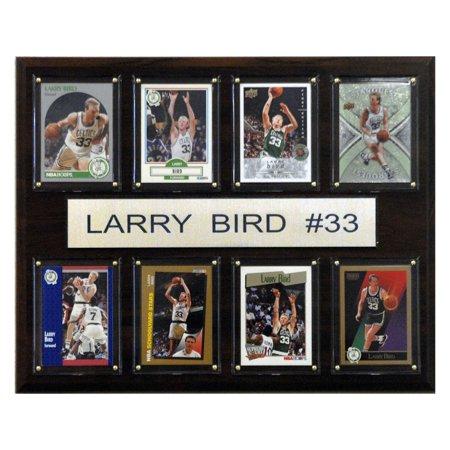 C&I Collectables NBA 12x15 Larry Bird Boston Celtics 8-Card