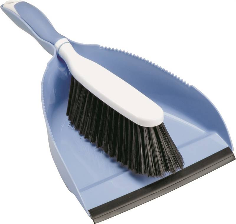 HAND BROOM W/ DUST PAN