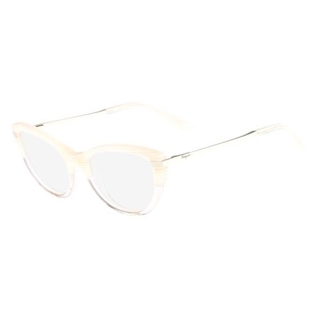 Salvatore Ferragamo SF2731 Eyeglasses 102 Striped (Ivory Eyeglass Frames)