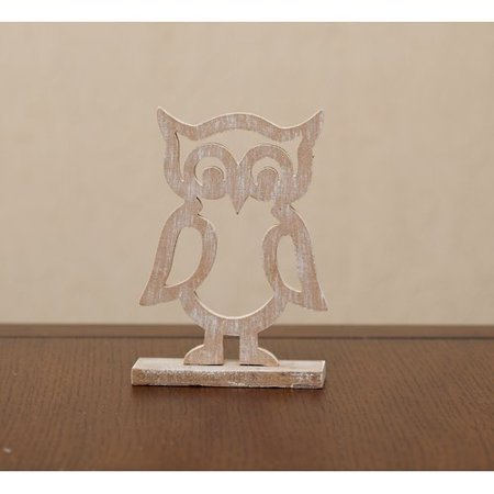 ZiaBella Cutout Owl Tabletopper Stuffed Holiday Accent (Set of 2)](Owl Cutouts)