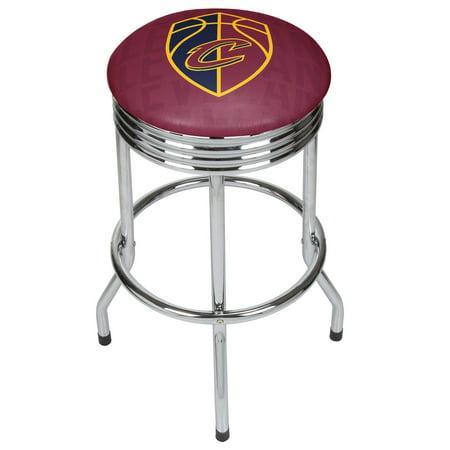NBA Chrome Ribbed Bar Stool - City - Cleveland - Party City Cleveland