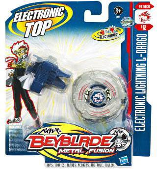 Hasbro Beyblade Metal Fusion, Electronic Lightning L-Drago