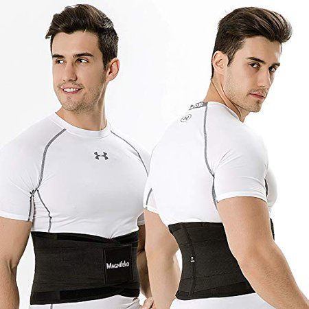 Lower Burner - Waist Trainer Belt - for Lower Back Pain Support - Stomach Fat Burner Wrap - Slimming Body Shaper Back Belt for Weight Loss, Workout & Fitness (25.6-31.5