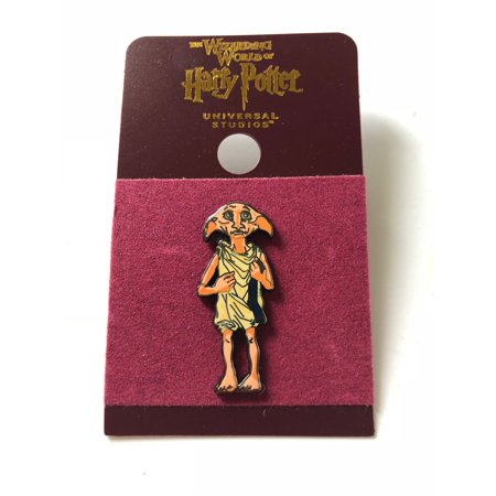 Universal Studios Harry Potter Dobby Enamel Pin New with Card Enamel Wreath Pin