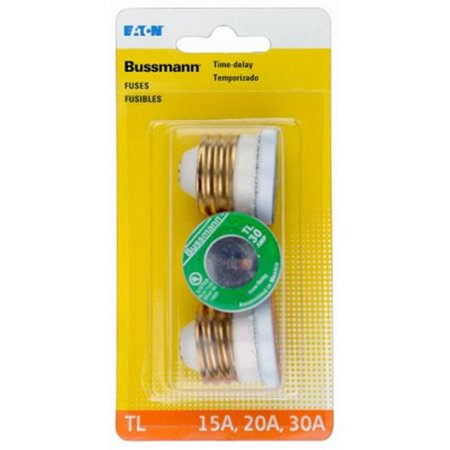 Time Delay TL Plug Fuse - Assorted Color, Pack of 3 - image 1 de 1