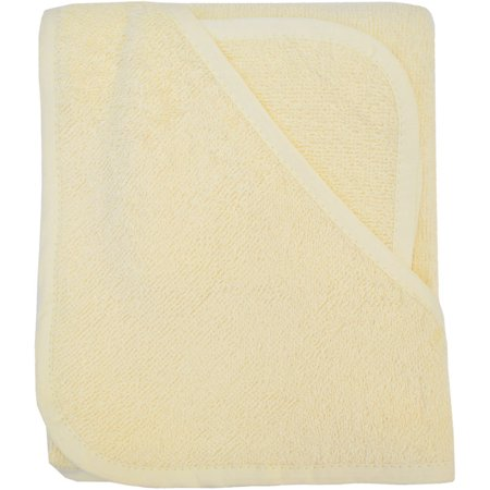 Tl Care 100 Percent Organic Cotton Terry Hooded Towel Set  Ecru