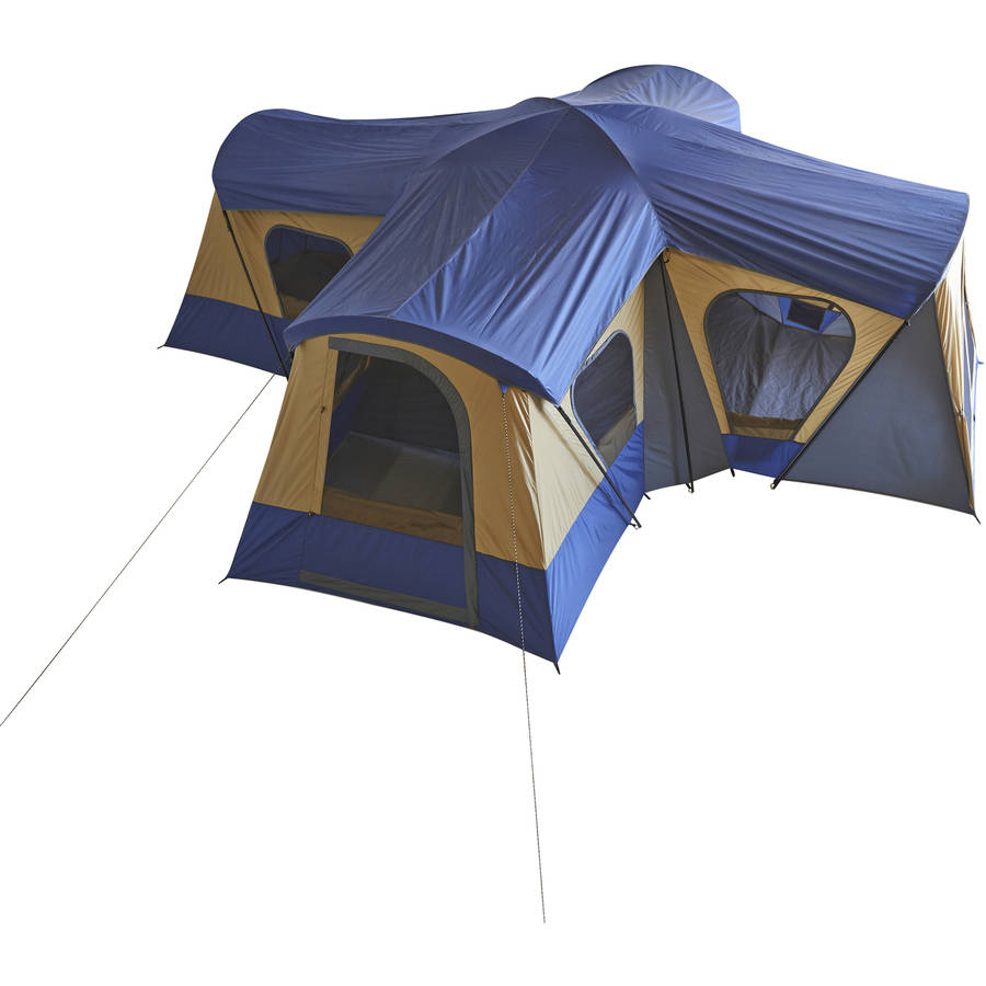 sc 1 st  Walmart.com & Ozark Trail 14-Person 4-Room Base Camp Tent - Walmart.com