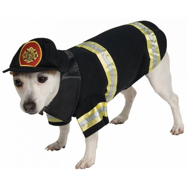 Pet Costume Firefighter Md