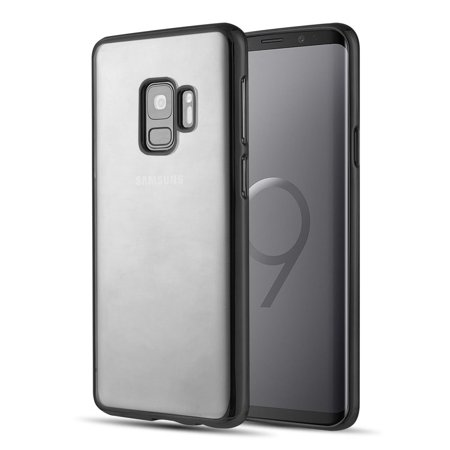 newest 50e9e f88dc Samsung Galaxy S9 Case, by Insten Chrome Rubber TPU Case Cover For Samsung  Galaxy S9, Clear/Gray