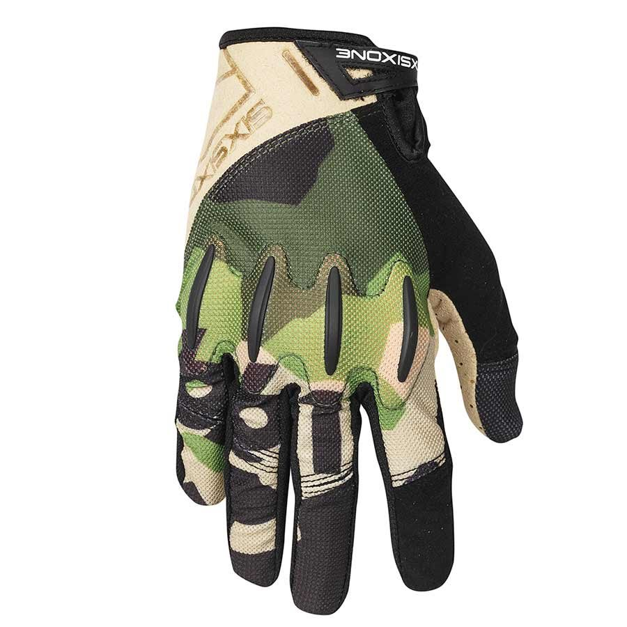 "SixSixOne, Evo II Glove Camo S with D30 Impact Protection (S = 8"")"