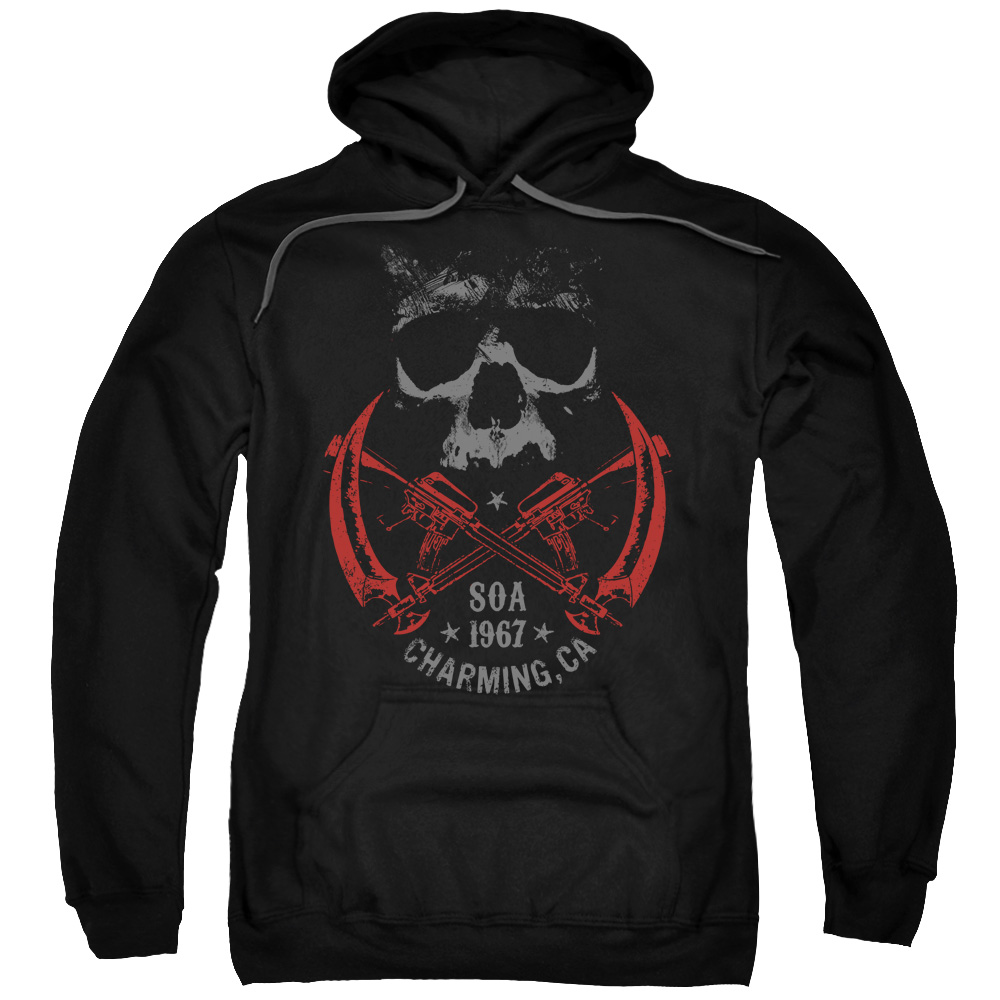 Sons Of Anarchy Cross Guns Mens Pullover Hoodie