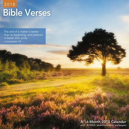 Mead Bible Verses Wall Calendar - Wall Calendars