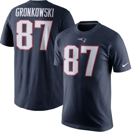 Rob Gronkowski New England Patriots Nike Player Pride Name & Number T-Shirt - Navy Blue New England Patriots Number