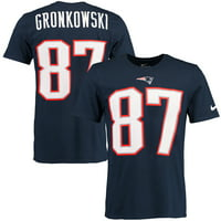 Product Image Rob Gronkowski New England Patriots Nike Player Pride Name    Number T-Shirt - Navy 2ab67b750c174