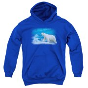 Wildlife Nomad Of The North Big Boys Pullover Hoodie