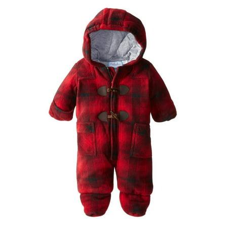 2f4f6ec71 Pistacio - Pistachio Infant Boys Red Plaid Snowsuit Baby Pram Snow Suit  Coverall - Walmart.com
