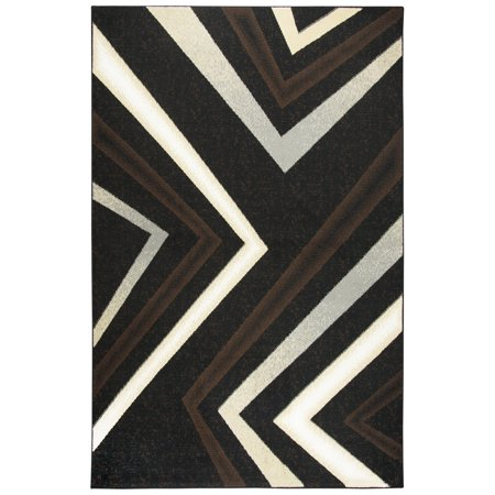 Gatney Rugs Limon Area Rugs Xi6936 Contemporary Black Corners