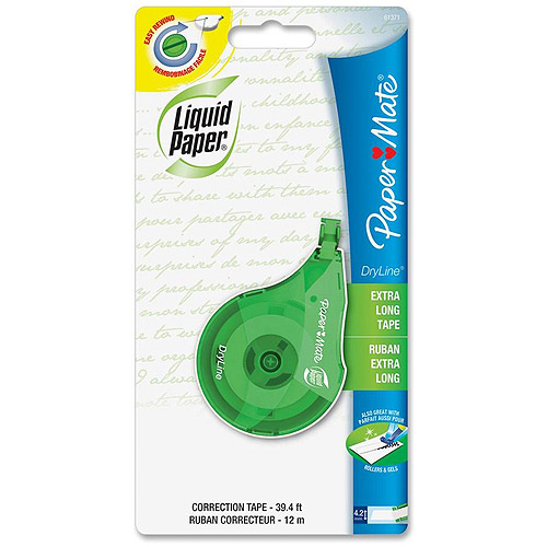Paper Mate Liquid Paper DryLine Correction Tape