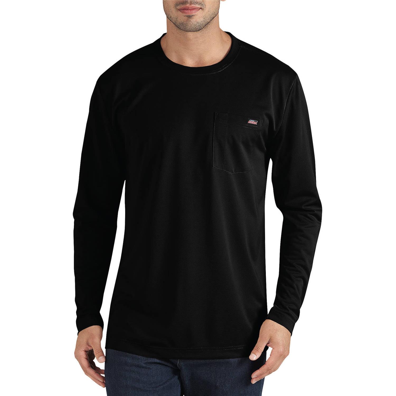Genuine Dickies Big Men's Long Sleeve Performance Pocket T-Shirt