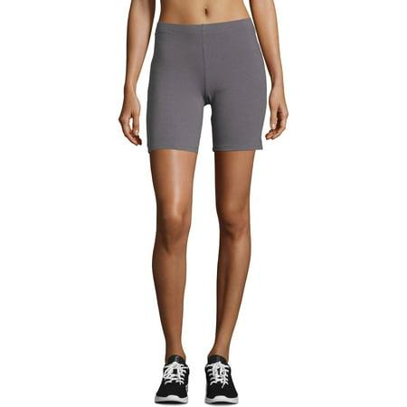 Hanes Women's Stretch Cotton Bike Short