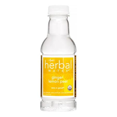 Ginger Water (Ayala's Herbal Water, Ginger Lemon Peel, 16 Fl)