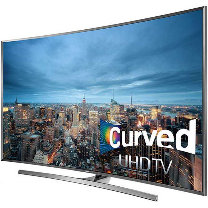 Samsung Un50ju7500 50 Inch Curved 4k 120hz Ultra Hd Smart 3d Led Hdtv Walmart Com