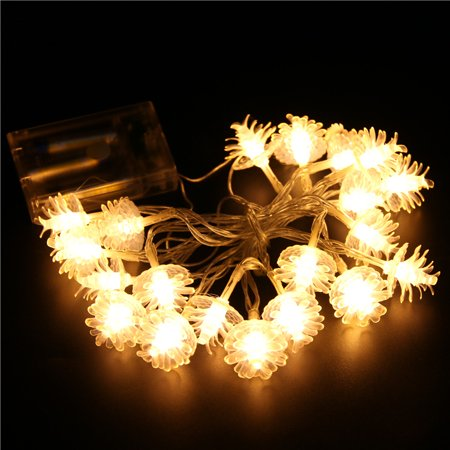 - Fancyleo 3M 20 LED natal String Fairy Ligh christmas tree LED Lights Outdoor Garland Christmas decorations for home or wedding