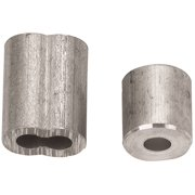 """Campbell B7675454 2 CABLE FERRULE & 2 STOP,1/4"""""""