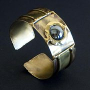 Global Crafts Handmade Shine On Hematite Cuff (South Africa)